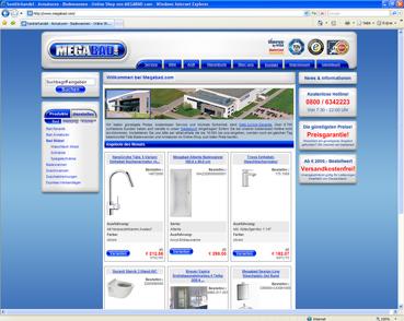 Neues Design für Megabad.com